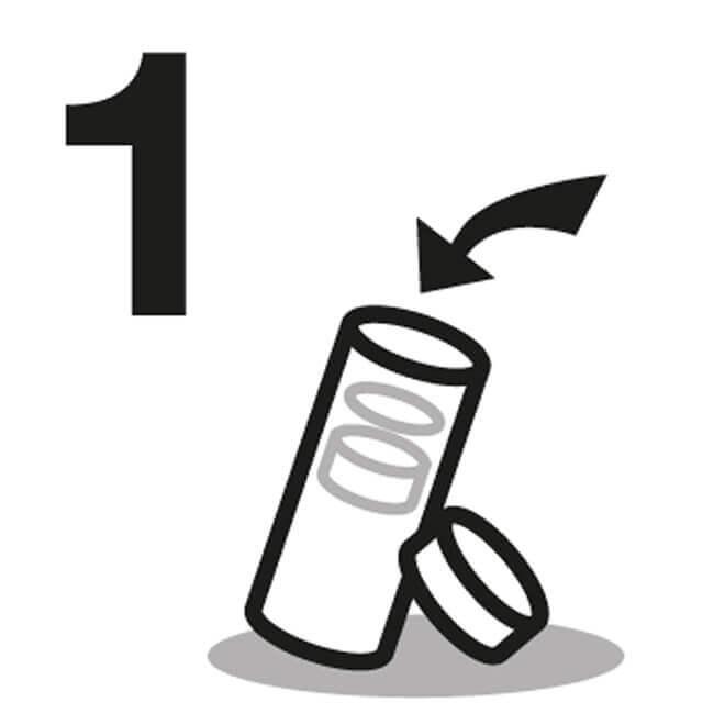 Instrucción de Agua Botella 1