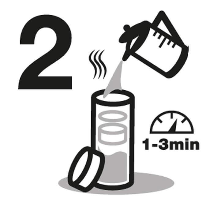 Instrucción de Agua Botella 2